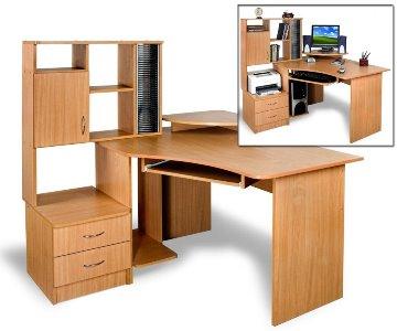 Учительский стол угловой